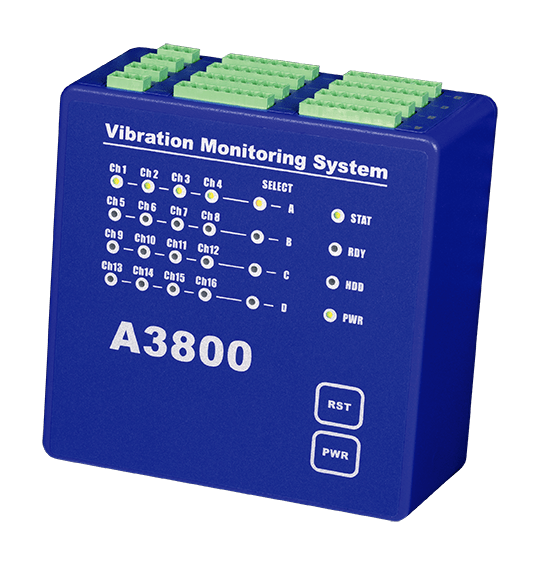 A3800 online system for vibration diagnostics