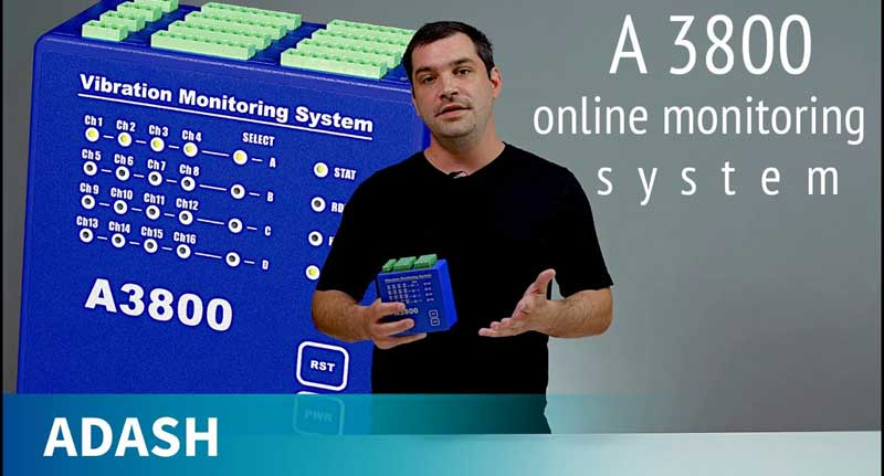 Online Vibration Monitoring System - ADASH A3800